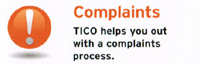 TICO helps you out with a complaints process